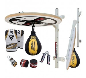 RDX Boxing Club Pro 10PC Punching Speed Ball Platform Set