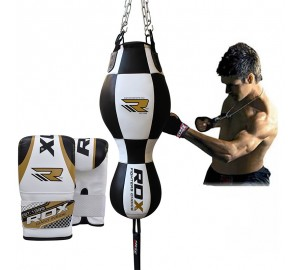 RDX Leather-X Training Punching 3 in 1 Punch Bag