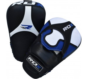 RDX Leather Focus Pads Hook & jab