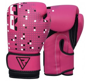 Pink 4oz Dino Boxing Gloves