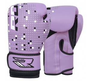 Purple 6oz Dino Boxing Gloves