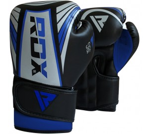 Blue 6oz Demo Boxing Gloves