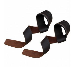 RDX Leather Padded Weight Lifting Gym Straps